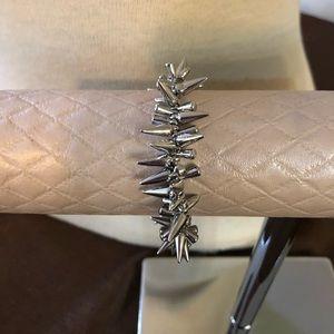 Stella & Dot silver rebel bracelet
